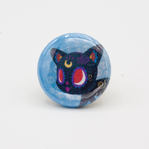 luna sailor moon pinback button mini