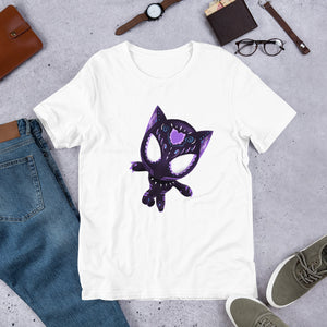 Black Panther - Avengers | Sugar Skull Mashup Short-Sleeve Unisex T-Shirt