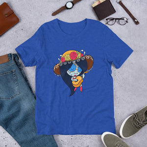 Marceline the Vampire Queen - Adventure Time | Sugar Skull Mashup Short-Sleeve Unisex T-Shirt