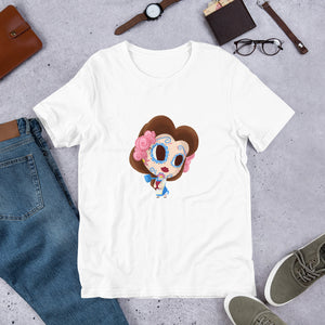 Belle - Beauty and the Beast | Sugar Skull Mashup Short-Sleeve Unisex T-Shirt