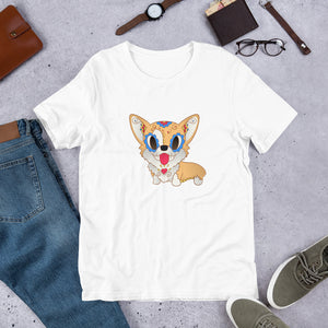 Pickles the Corgi | Sugar Skull tee