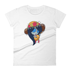 Marceline the Vampire Queen - Adventure Time | Sugar Skull Mash Up Women's short sleeve t-shirt
