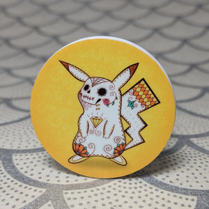Pikachu - Pokemon Phone Holder | Day of the Dead Mashup