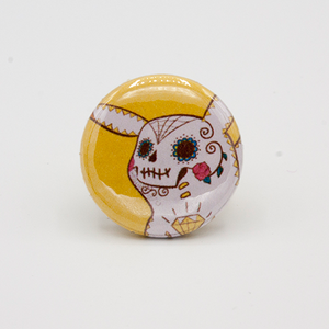 pikachu pinback button mini