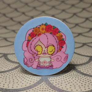 Rose Quartz - Steven Universe Phone Holder | Day of the Dead Mashup