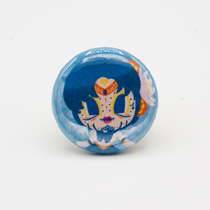 sailor mercury pinback button mini