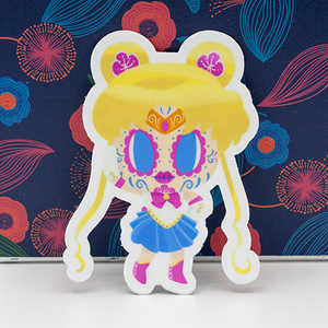 Sailor moon day of the dead sticker