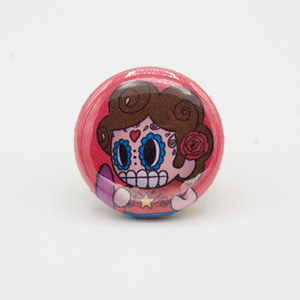 Steven Universe Day of the Dead Mashup Pin