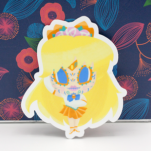 Sailor Venus day of the dead sticker