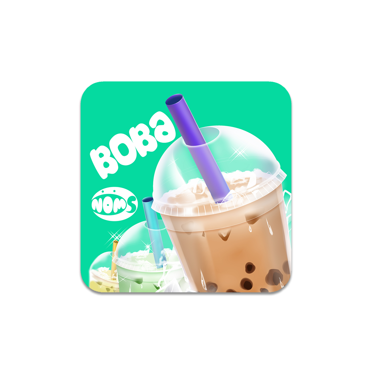 Boba Sticker