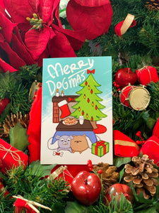 Christmas Card - Merry Dogmas