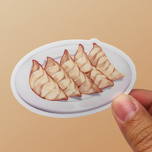Dumplings | Vinyl Food Sticker