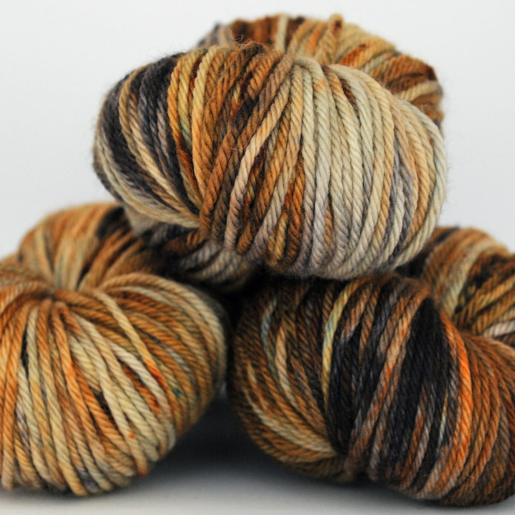 A Lion Among the Sheep, Aussie Extra Fine DK/Light Worsted