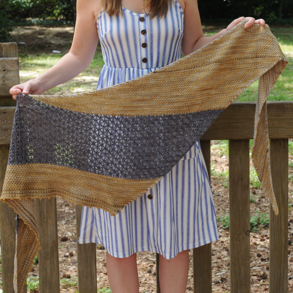 Boogaloo Shawl Kit with Pattern