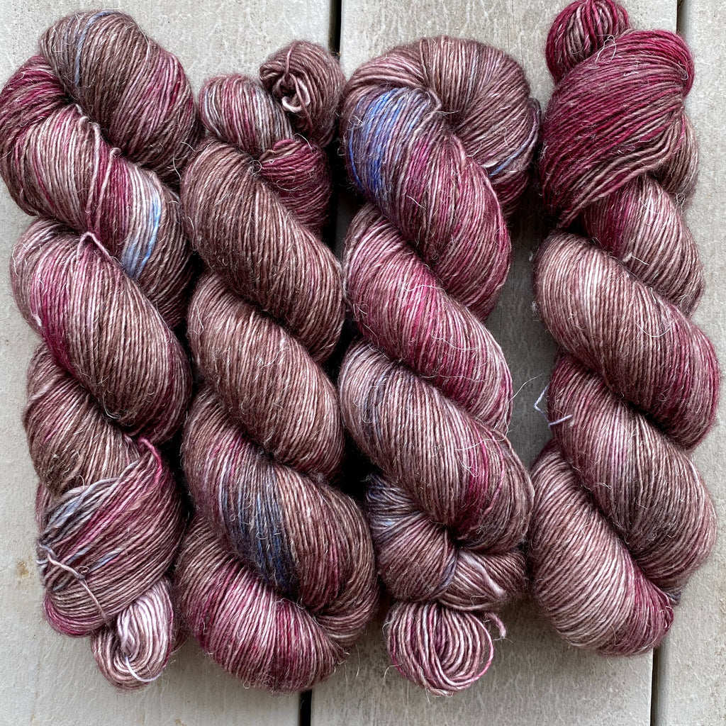 Maleficent, Merino Linen Fingering Weight