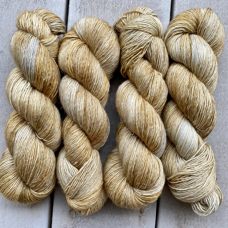 Wheat, Merino Linen Fingering Weight