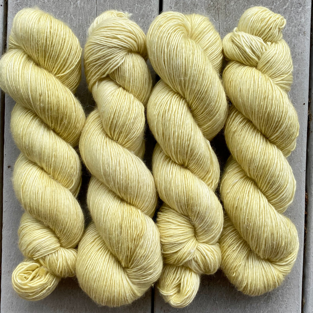 Limoncello, Merino Linen Fingering Weight