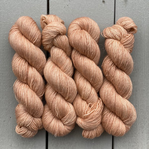 Pink Sandalwood, Merino Linen Fingering Weight
