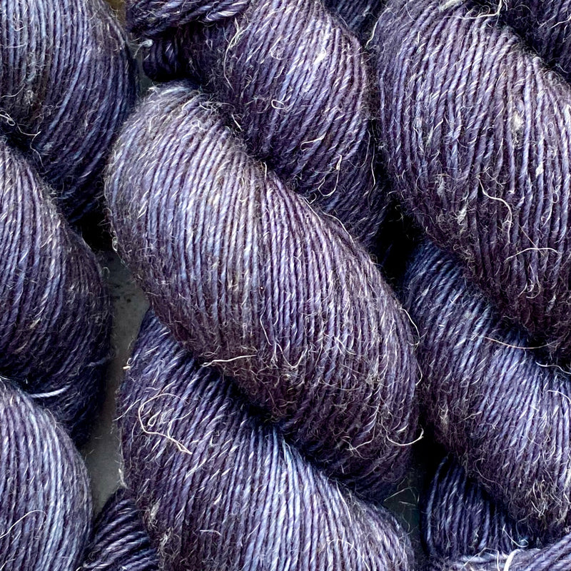 Indigo, Merino Linen Fingering Weight