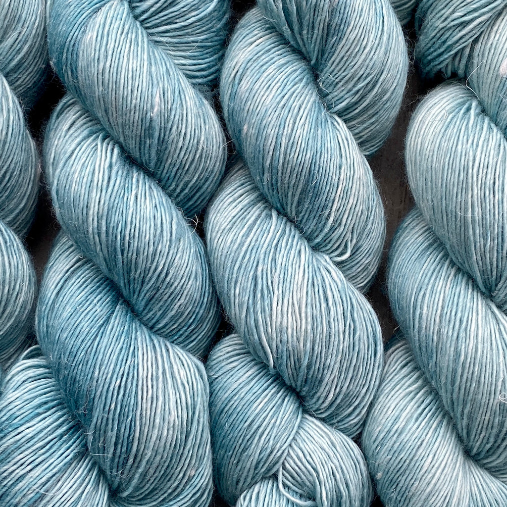 Gossamer Teal, Merino Linen Fingering Weight