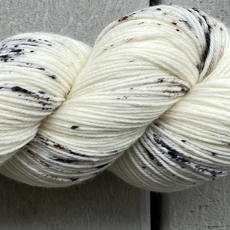 White Lynx, Aussie Extra Fine Sock with Nylon
