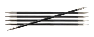 "Knitter's Pride Karbonz Double Point Needles  6"" Length Various Sizes"
