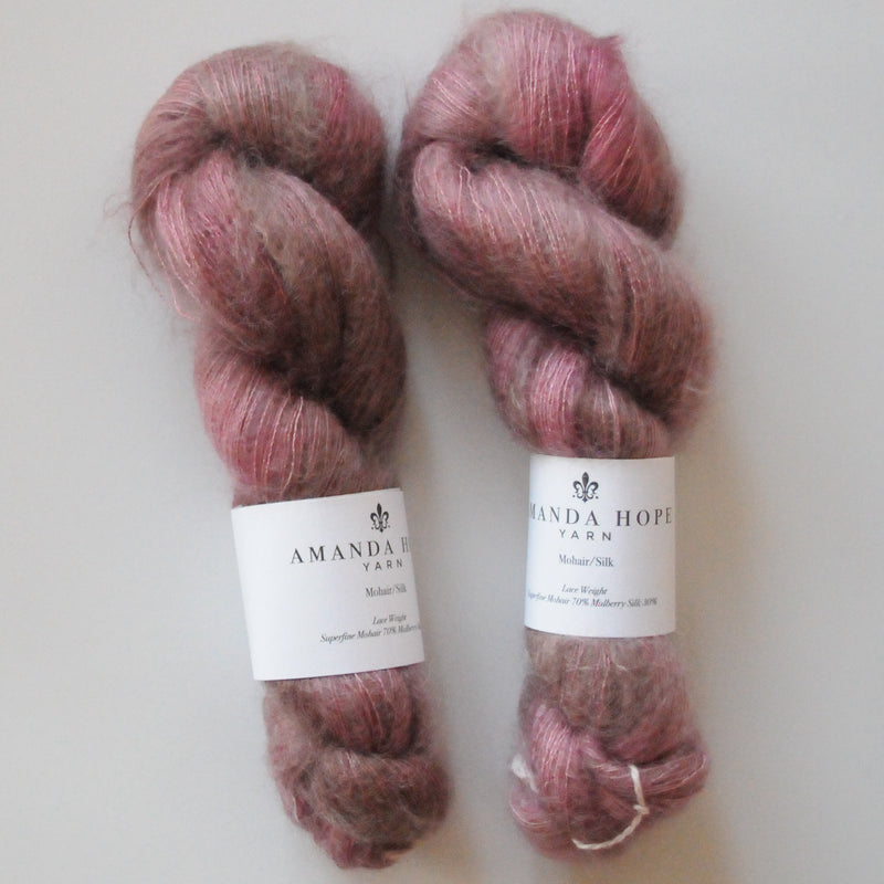 Mauvelous, Mohair/Silk