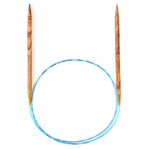 Addi Olive Wood Fixed Circular Needle US Size 5 (3.75mm)
