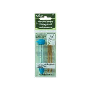 Clover Chibi Jumbo Darning Needle Set 340, Bent Tips
