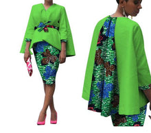 Load image into Gallery viewer, African Two Piece Set Dress - kats closet1