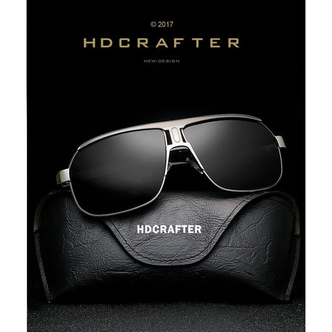 Metal Frame Polarized Men Classic Outdoor Driving Eyewear