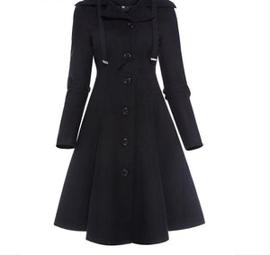Fashion Long Medieval Trench Coat