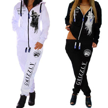 Load image into Gallery viewer, Hooded Sweatshirt and Pants Set - kats closet1