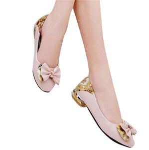 Low Heels Casual Pointed Toe Comfortable Shoes - kats closet1