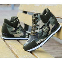 Load image into Gallery viewer, Camouflage Casual High-Top Sport Shoes - kats closet1