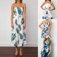 Load image into Gallery viewer, Strapless Design Print Jumpsuit - kats closet1