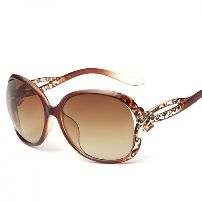 Embellished Leopard Pattern Sunglasses - kats closet1