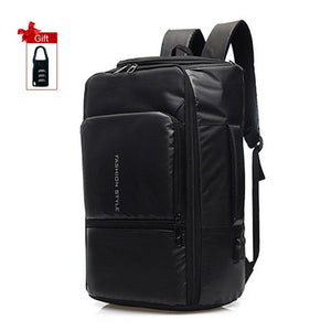 17 inch Laptop Anti Theft Waterproof Business Travel Backpack