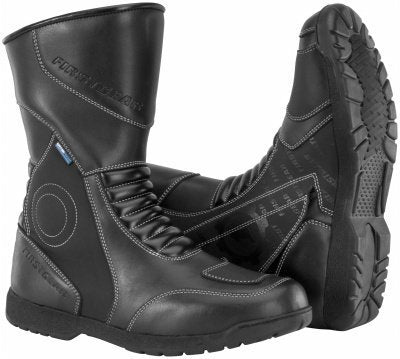 Firstgear Mens Kili Hi Motorcycle Boots Black - kats closet1