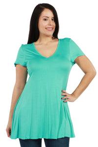 Kathy Plus Size Tunic TopKathy Plus Size Tunic Top - kats closet1