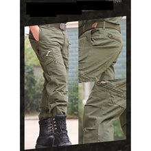 Load image into Gallery viewer, Breathable Multi Pocket Military Army Camouflage Cargo Pants - kats closet1