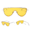 Rimless Oversize Celebrity Sunglasses