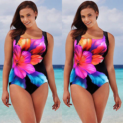 One Piece Push Up Padded Swimsuit - kats closet1