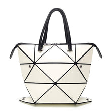 Load image into Gallery viewer, Luminous Folded Geometric Plaid Casual Tote Shoulder Bag