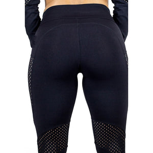 High Waist Fitness Leather Workout Leggings