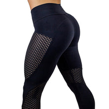 Load image into Gallery viewer, High Waist Fitness Leather Workout Leggings