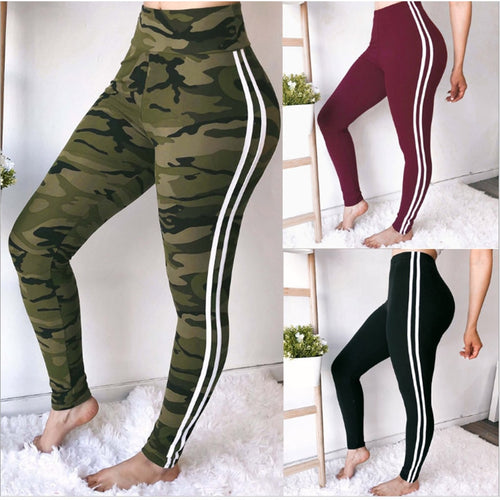 High Waist Work Out Sporting Slim Leggings