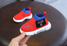 Load image into Gallery viewer, Soft Soles Girls / Boys Toddler Net Cloth Flat Sneakers