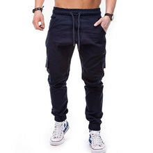 Load image into Gallery viewer, Men Straight Leg  Slim Long Pants