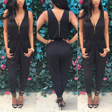 Load image into Gallery viewer, Sleeveless Bodycon Jumpsuit - kats closet1